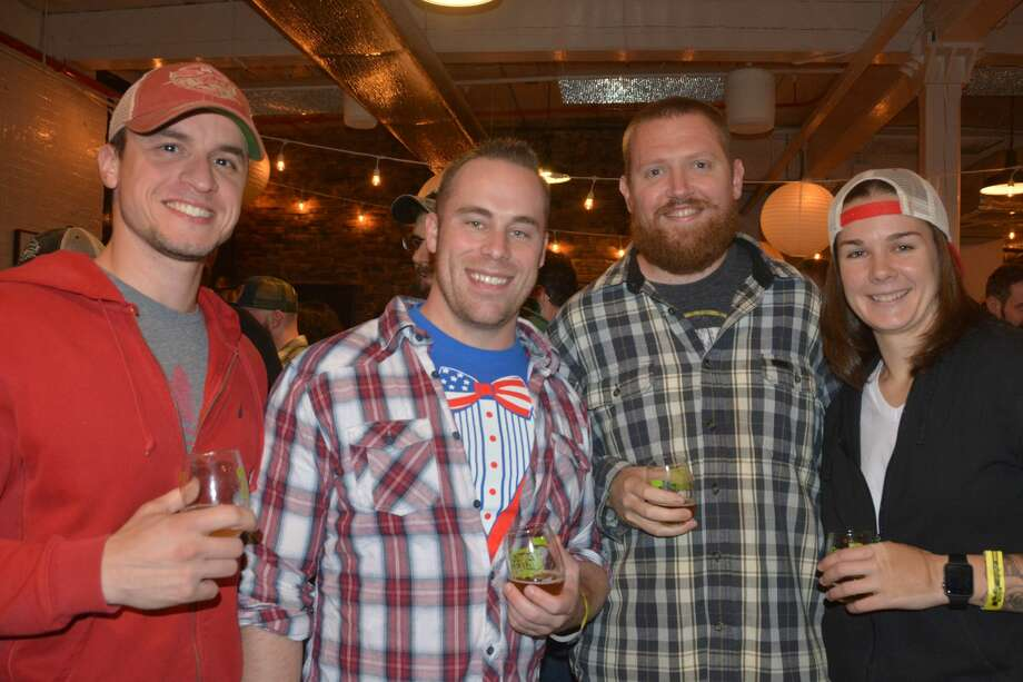 Two Roads Brewing Co. in Stratford held its fifth annual Connecticut Brewers Fest on November 5, 2018. Guests enjoyed beer samples from more than 40 breweries and food from local food trucks. A portion of the proceeds from benefit the Connecticut Craft Brewer's Guild. Were you SEEN? Photo: Vic Eng / Hearst Connecticut Media Group