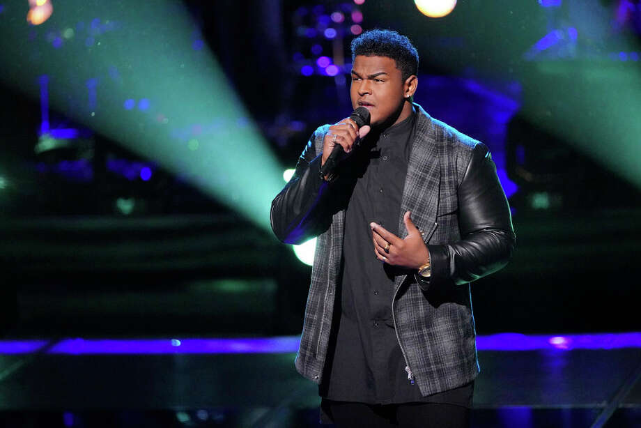Port Arthur's DeAndre Nico on The Voice knockout rounds. Photo: NBC / 2018 NBCUniversal Media, LLC