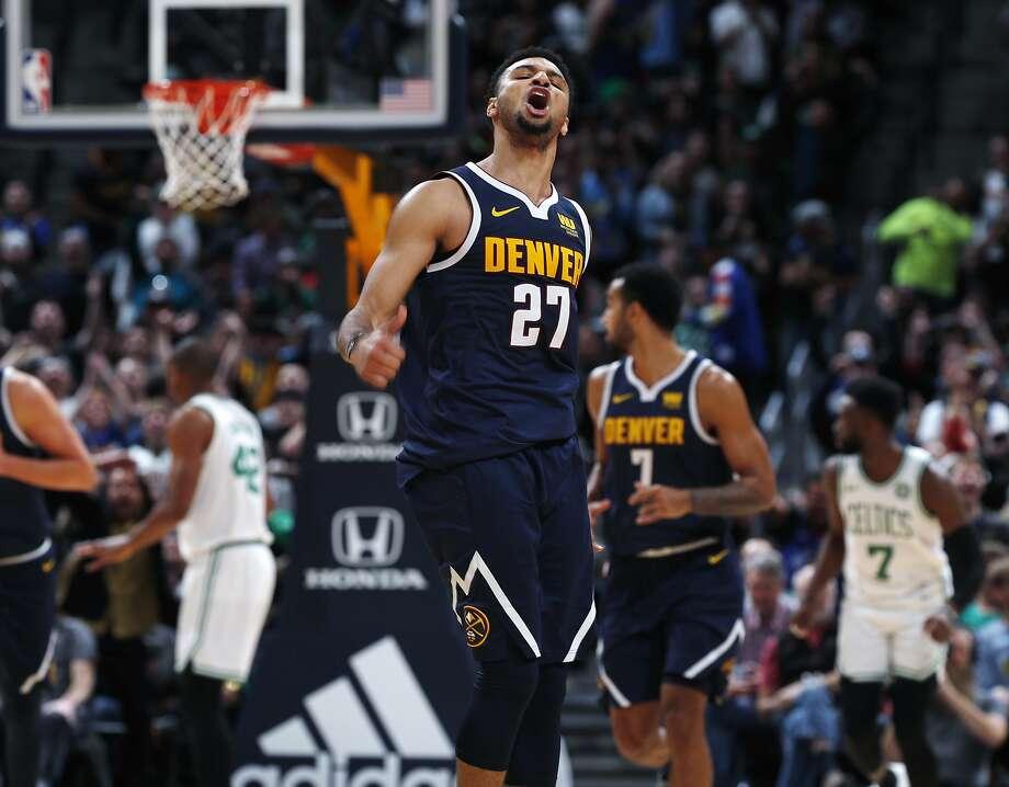 Jamal Murray's career-high 48 points lead Nuggets past Celtics