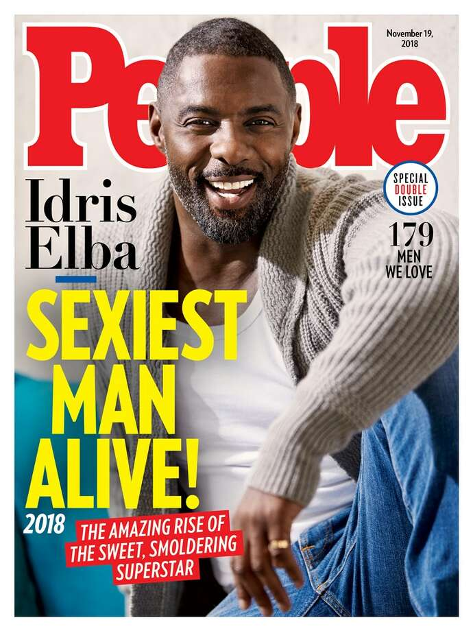 Idris Elba is People magazine's Sexiest Man Alive for 2018. Photo: People.com