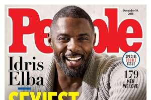 Idris Elba is People magazine's Sexiest Man Alive for 2018.