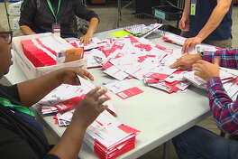 King county ballots are counted.