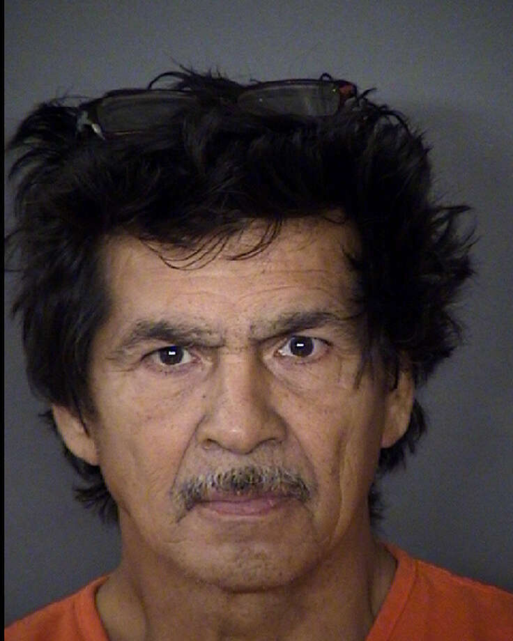 Christopher Garcia, 58, is charged with three counts of aggravated assault with a deadly weapon. Photo: Bexar County Jail