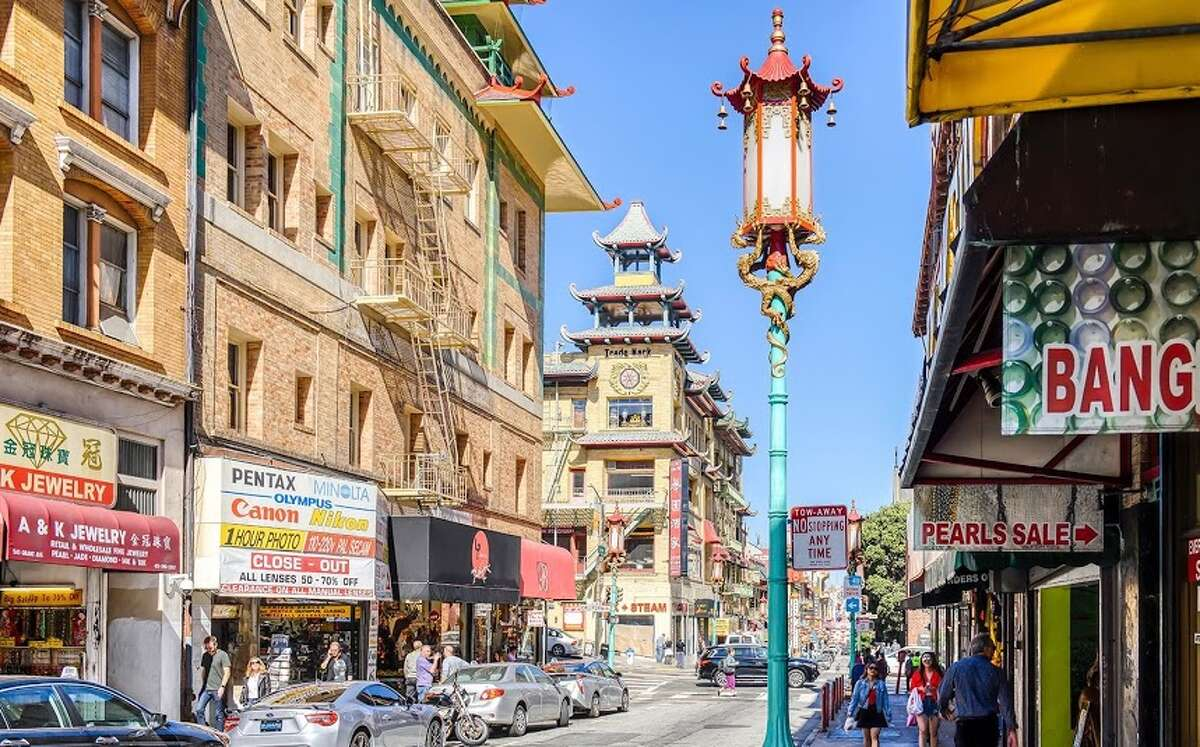 Modern day China Town seen in October 2018.