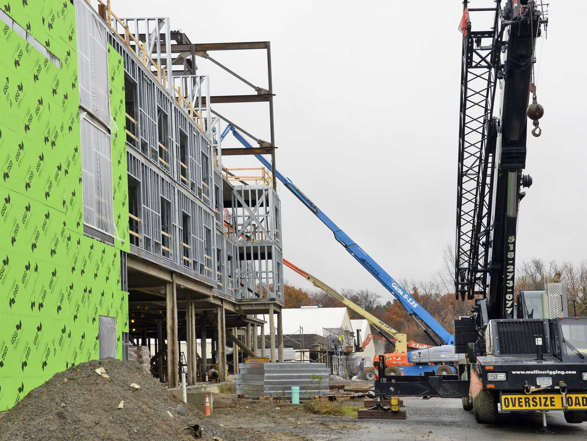 Marriott dual-brand hotel taking shape in Colonie - SFChronicle com