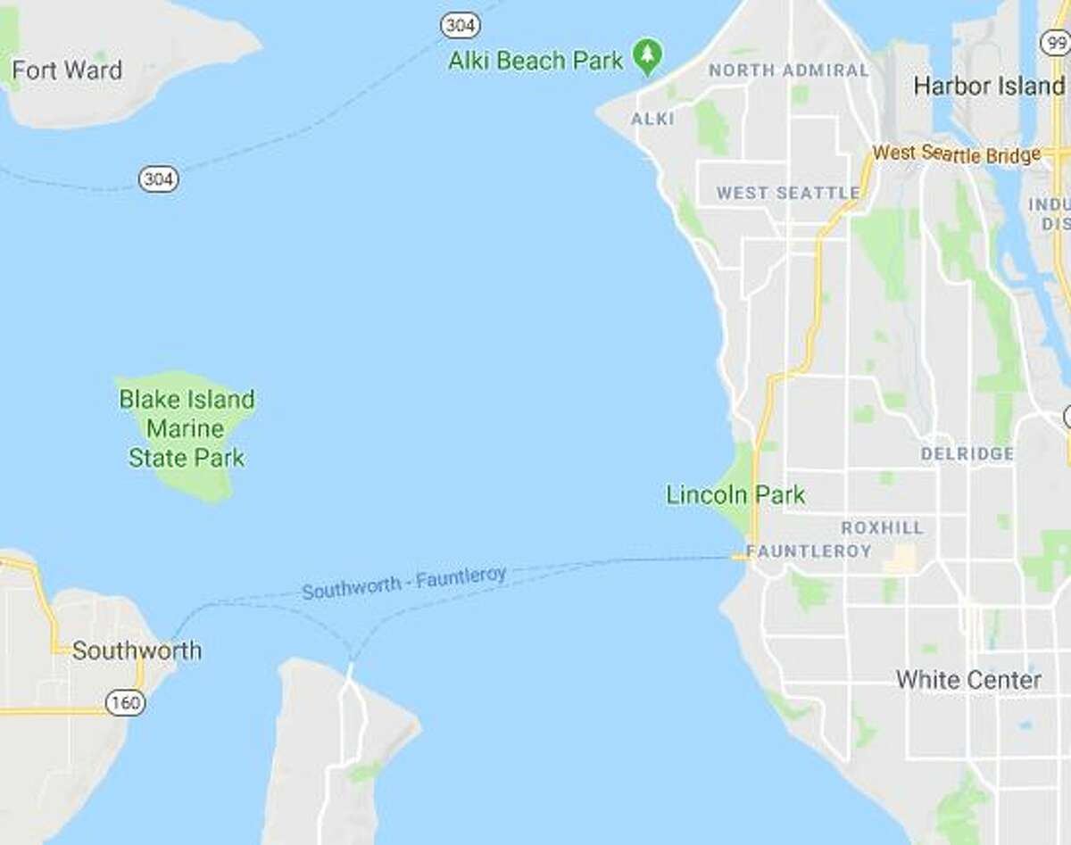 The affected route runs between Fauntleroy, Vashon Island and Southworth.