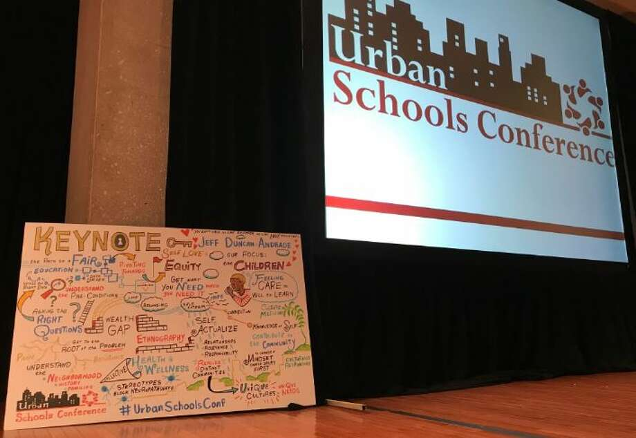There were lots of ideas and new concepts during Tuesday's Urban Schools Conference Photo: Rick Karlin/Times Union