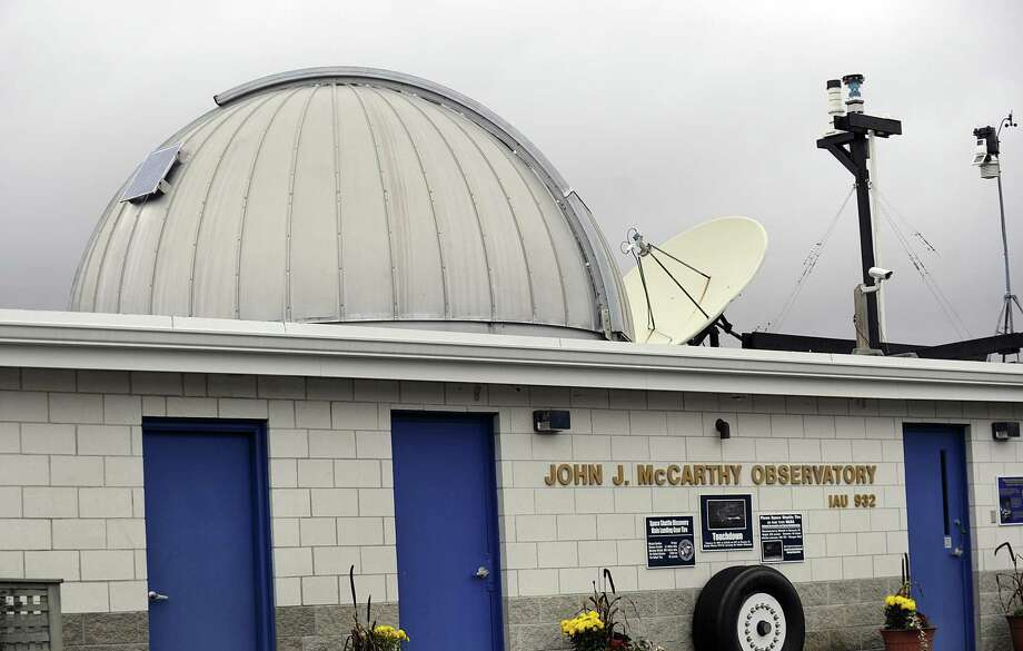 The John J. Observatory in New Milford. Photo Friday, Nov. 2, 2018. Photo: Carol Kaliff / Hearst Connecticut Media / The News-Times