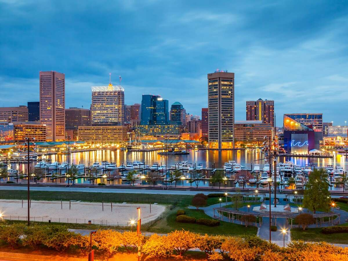 No. 23 - Baltimore, Maryland Country: United States    Population: 611,648    Homicides: 309     Homicide rate per 100,000 people: 50.52