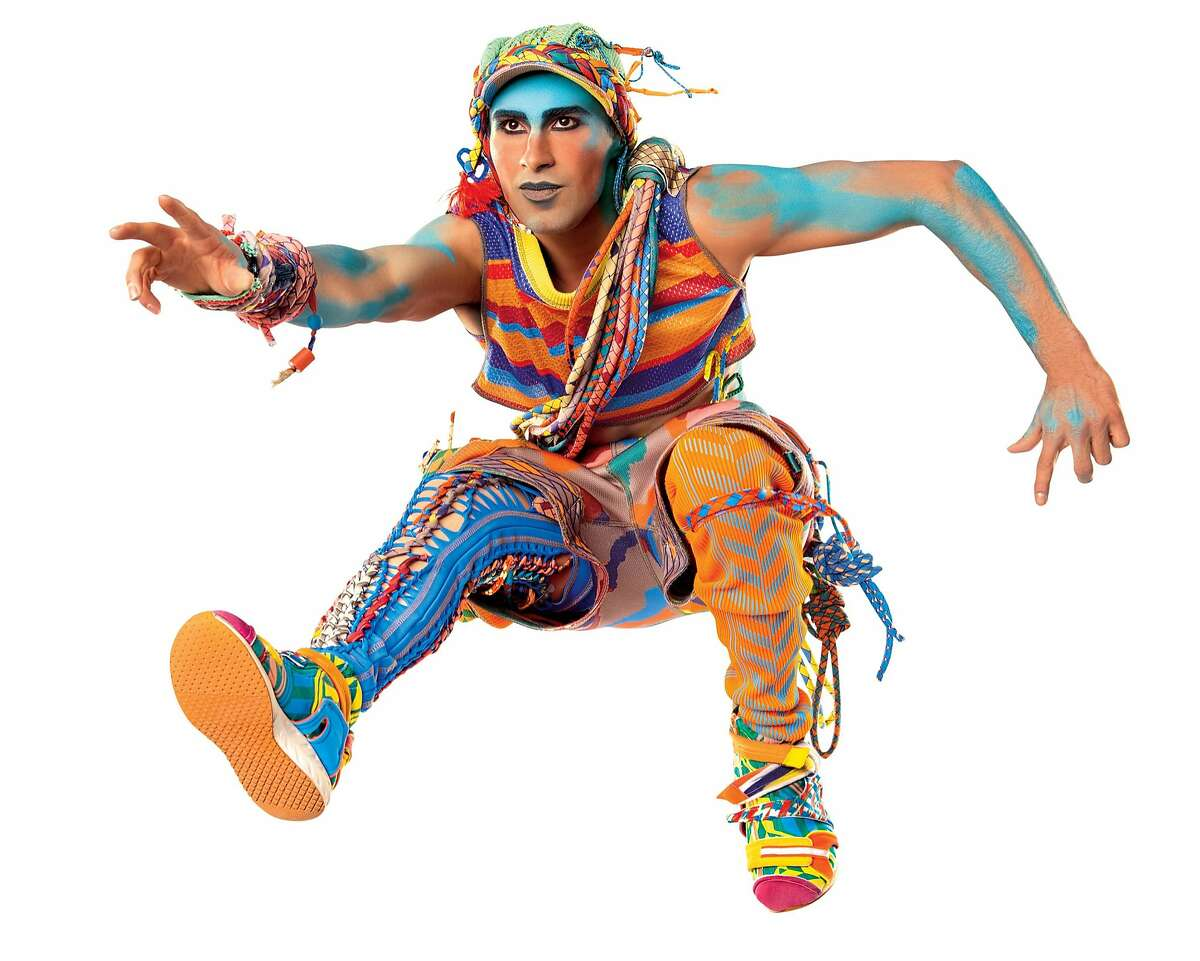 """Costumes designed by Zaldy for Cirque du Soleil's """"Volta."""""""