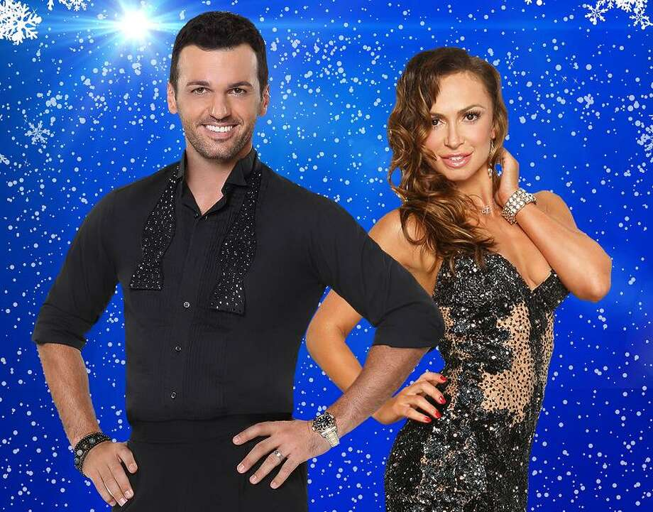 """""""Dance to the Holidays with Tony Dovolani & Karina Smirnoff"""" is onstage at the Ridgefield Playhouse on Nov. 18. Photo: The Stander Group / Contributed Photo"""