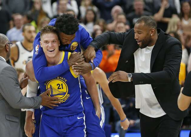 Warriors' Jonas Jerebko relating Achilles recovery gut check to Cousins