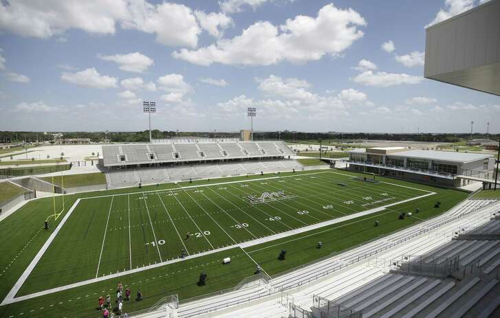 The Mike Johnston Field at Katy ISD Legacy Stadium, 5070 Franz Rd in Katy.