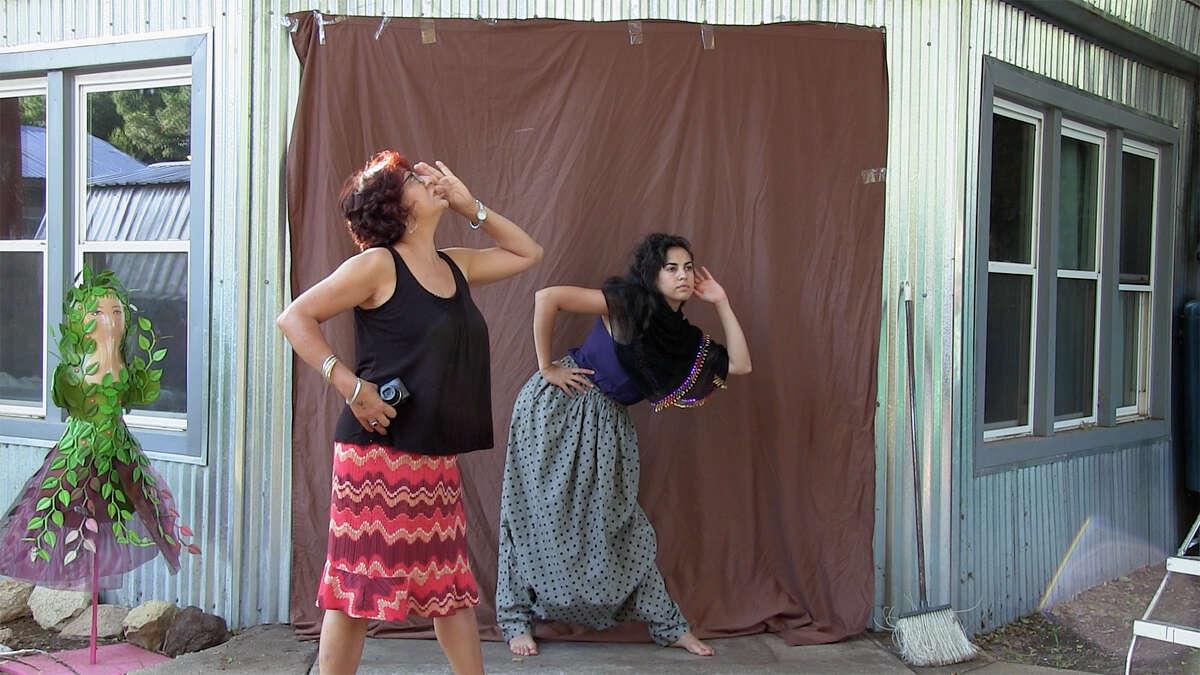 Lahib Jaddo and Nadia Shihab in 'Jaddoland'