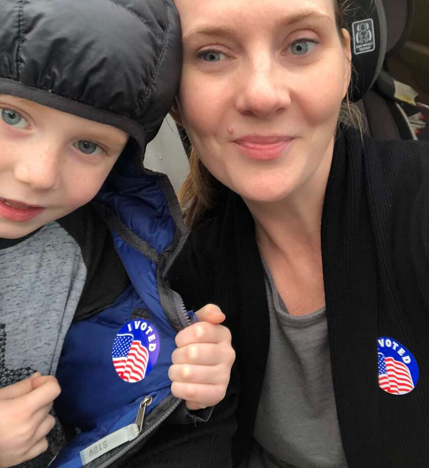 Readers share their 'I voted' selfies. Photo: Reader-submitted Photo