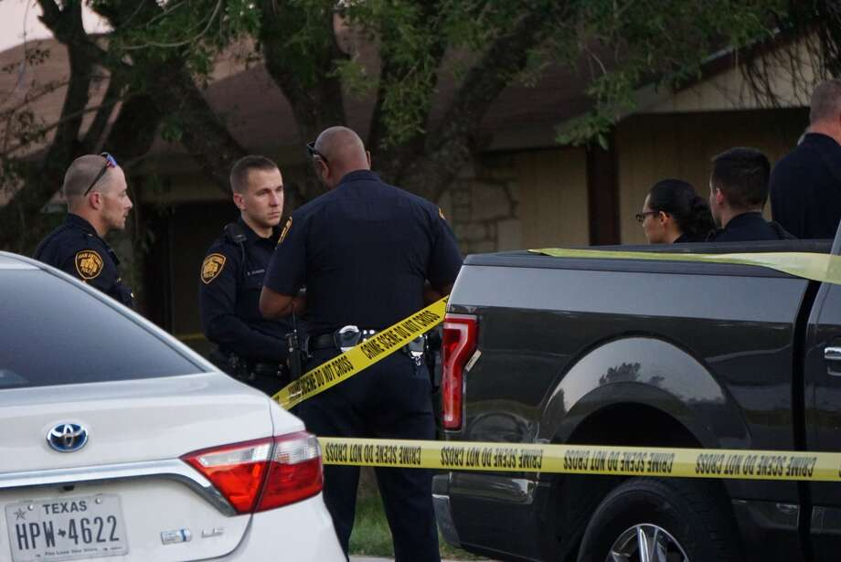 Three teens were found dead and one woman injured after what police are investigating as a murder-suicide Tuesday in the 10300 block of Cone Hill Drive. Photo: Jacob Beltran