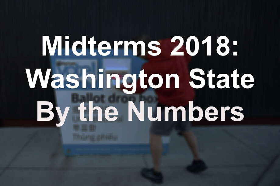 The midterms in 2018 have been accompanied by a lot. There's been celebrity endorsements, huge social media buzz and a hectic political climate. In Washington state, there's been some huge numbers as well. Voter turnout numbers are big, as was spending for several initiative campaigns. Here's the elections, by the numbers, in all their hyperbolic glory. Photo: Genna Martin/SeattlePI / SEATTLEPI.COM