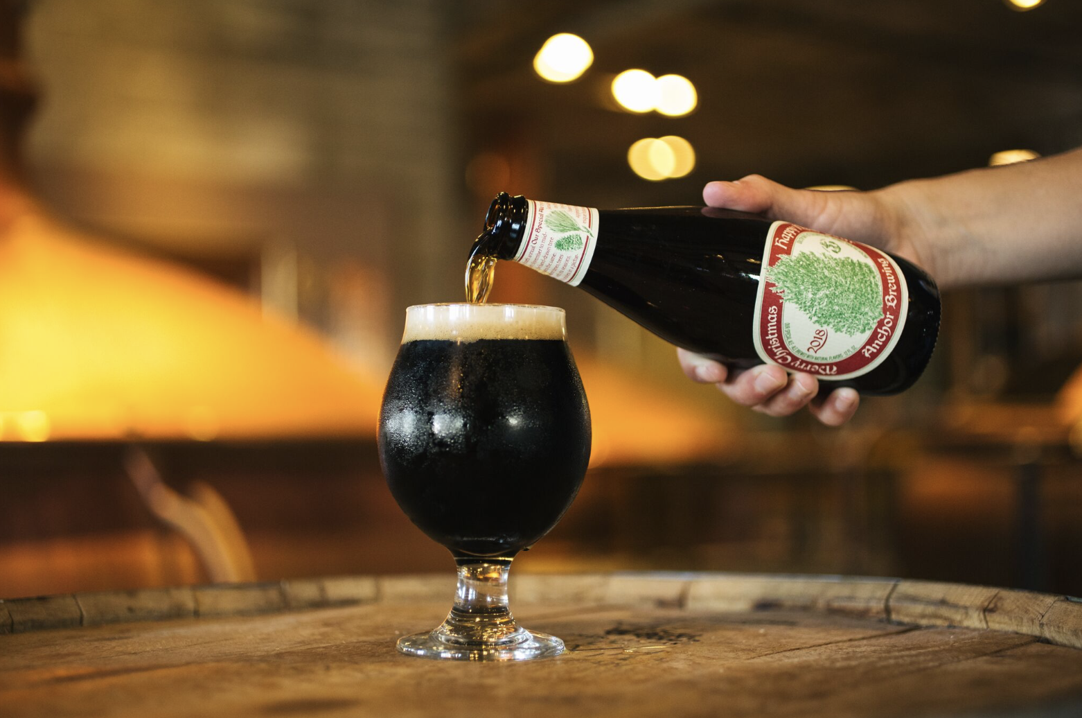 beer in the bay anchor releases christmas ale and henhouse plots major expansion sfgate - Anchor Brewing Christmas Ale