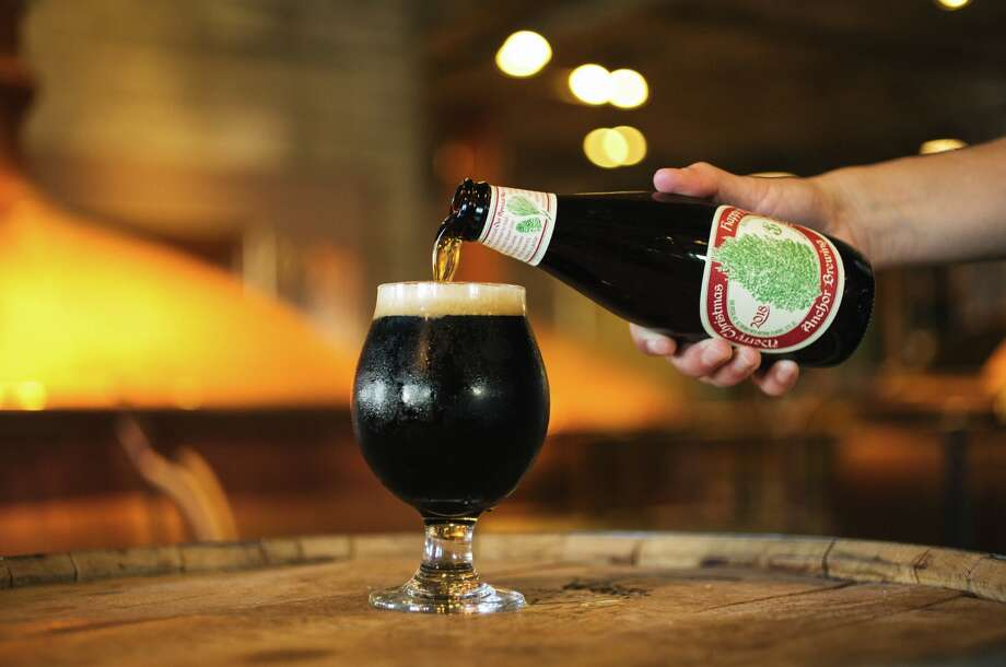 Anchor Brewing releases its Christmas Ale. Photo: Erin Conger / Courtesy Of Anchor Brewing