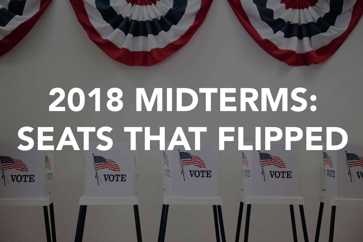 2018 midterm elections: A look around the country at what seats (and governorships) flipped parties.