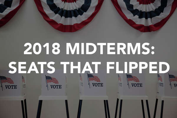 2018 midterm elections: A look around the country at what seats flipped parties.