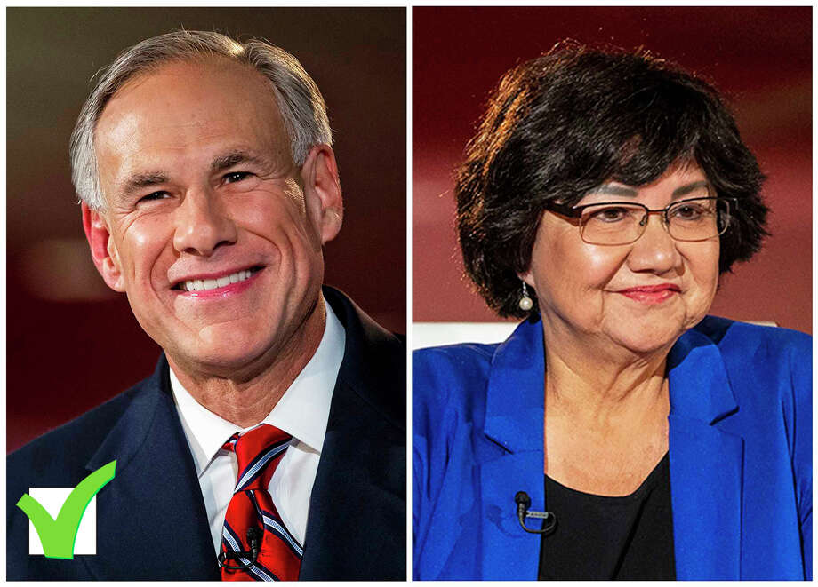 Texas Gov. Greg Abbott won his second term Tuesday, defeating his Democratic challenger Lupe Valdez.  >>Scenes from Texas election watch parties Photo: File Photos