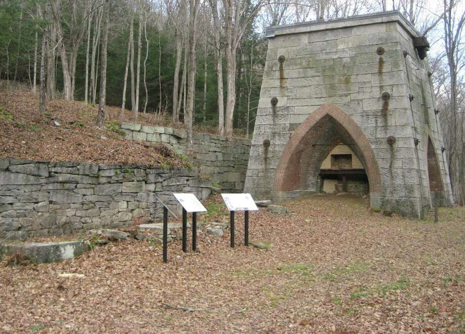 The Roxbury Land Trust will hold its first annual Dave Beglan Memorial Walk at Mine Hill Preserve Nov. 24 from 10 a.m. to noon. The event will be canceled in case of inclement weather. John Pawloski, founder and director of the Connecticut Museum of Mining and Mineral Science, will lead walk along the historic Donkey Trail, looking at the mine first and followed by the furnaces. Photo: Courtesy Of Roxbury Land Trust / The News-Times Contributed