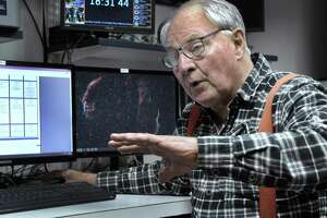 Monty Robson is the director of the John J. McCarthy Observatory in New Milford.