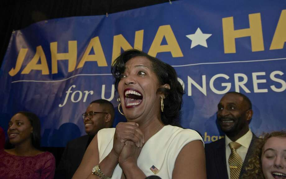 Jahana Hayes is Connecticut's newest delegate to the U.S. House of Representatives. Photo: H John Voorhees III / Hearst Connecticut Media / The News-Times