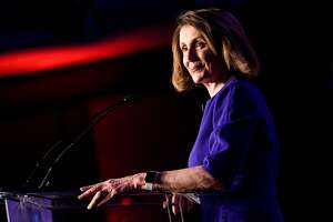 House Minority Leader Nancy Pelosi (D-CA) pauses while speaking during a midterm election night party hosted by the Democratic Congressional Campaign Committee November 6, 2018 in Washington, DC. (Photo by Brendan Smialowski / AFP)BRENDAN SMIALOWSKI/AFP/Getty Images