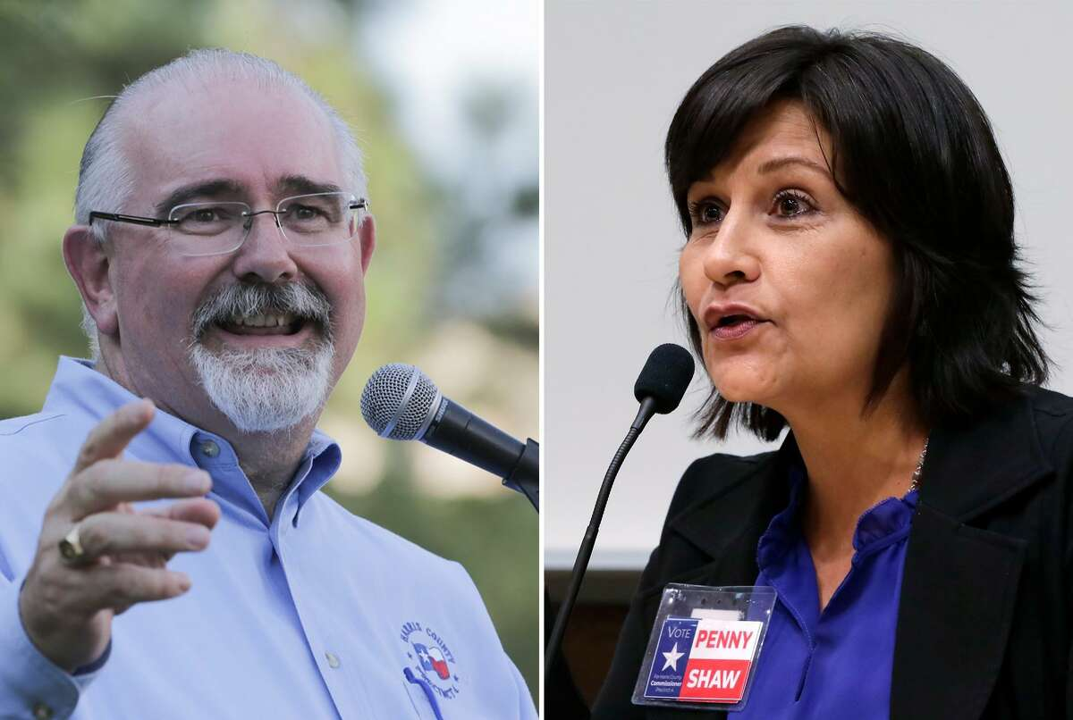 Harris County Commissioner Jack Cagle cruised to victory over Democrat Penny Shaw.