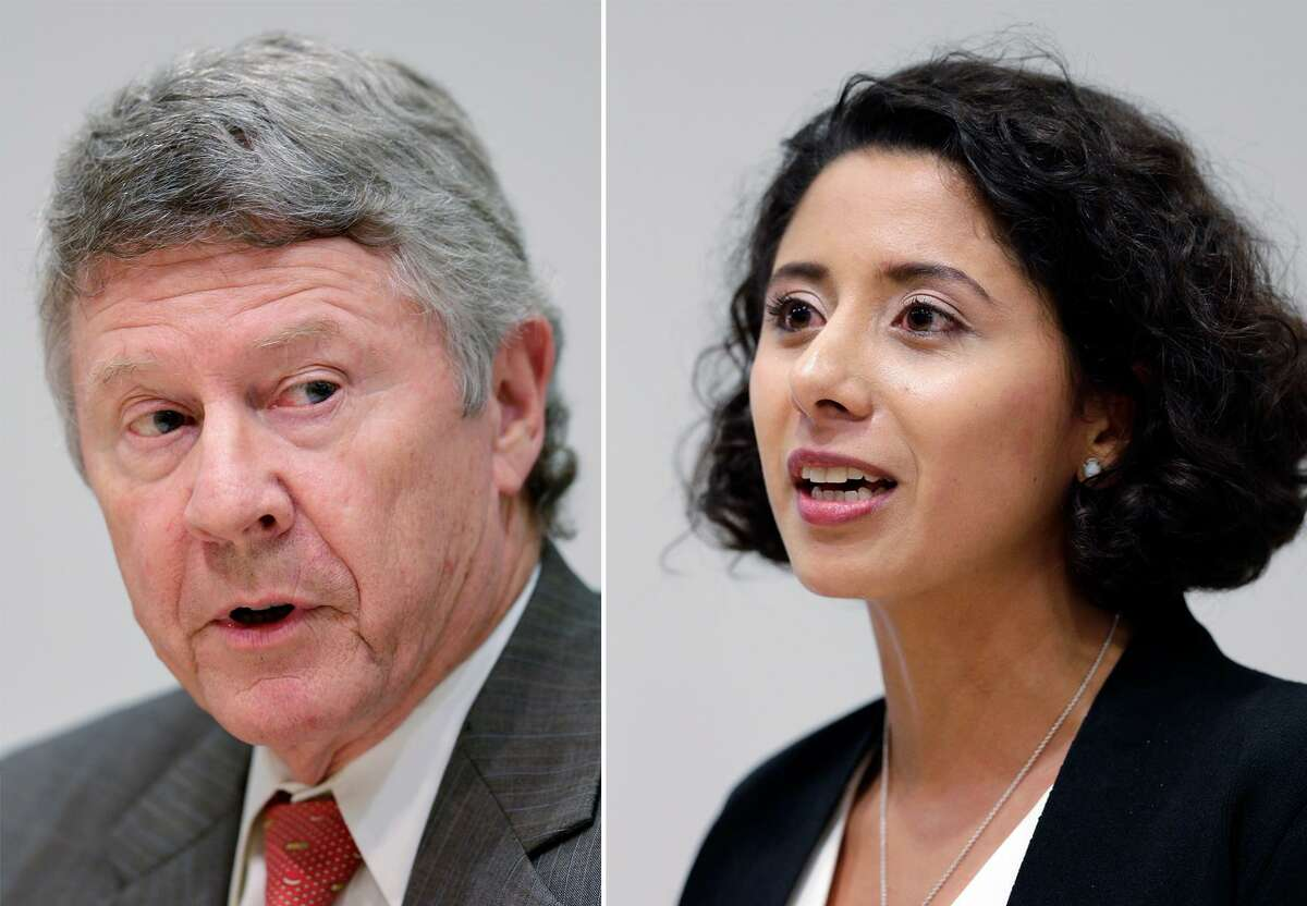 Harris County Judge Ed Emmett was defeated by political newcomer Lina Hidalgo in a tight battle for the county's top job.