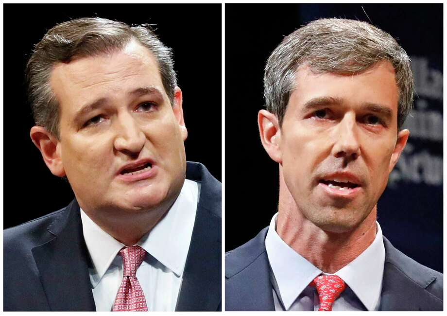 FILE - This combination of Sept. 21, 2018, file photos shows Texas U.S. Senate candidates in the November 2018 election from left, incumbent GOP Sen. Ted Cruz, left, and Democratic U.S. Representative Beto O'Rourke. (Tom Fox/The Dallas Morning News via AP, Pool, File) Photo: Tom Fox / The Dallas Morning News