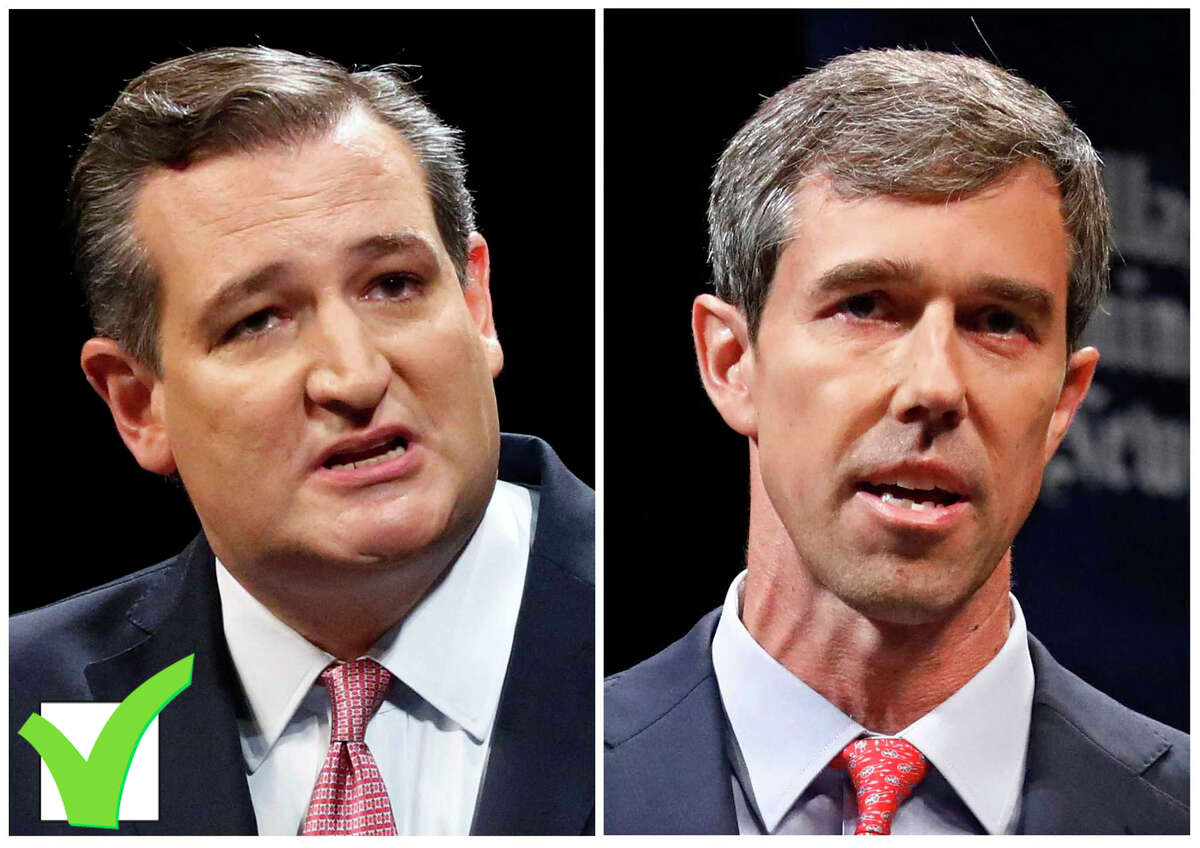 U.S. Sen. Ted Cruz, left, defeated and Democratic U.S. Rep. Beto O'Rourke.>>>Keep clicking to see how different Houston suburban areas voted in the Beto/Cruz election...