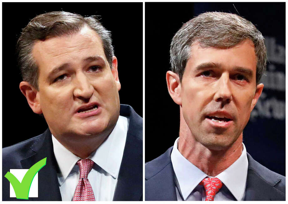 U.S. Sen. Ted Cruz, left, defeated and Democratic U.S. Rep. Beto O'Rourke.>>>Keep clicking to see how different Houston suburban areas voted in the Beto/Cruz election... Photo: Tom Fox/Associated Press / The Dallas Morning News