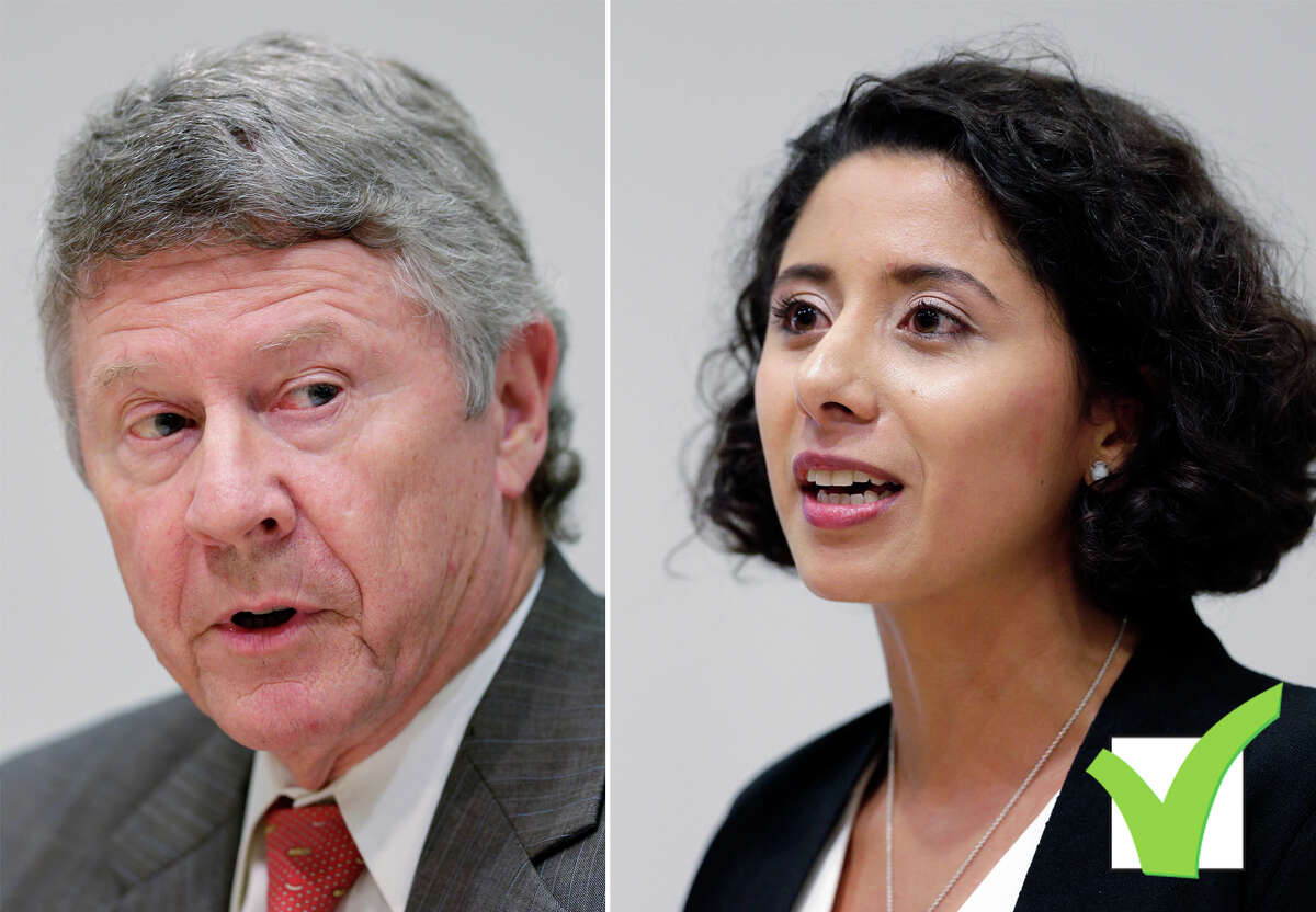 Harris County Judge Ed Emmett was defeated by Democrat Lina Hidalgo.
