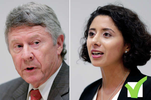 Harris County Judge Ed Emmett was defeated by Democrat Lina Hidalgo.