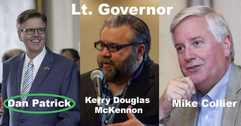 Lt. Governor Dan Patrick won the re-election.