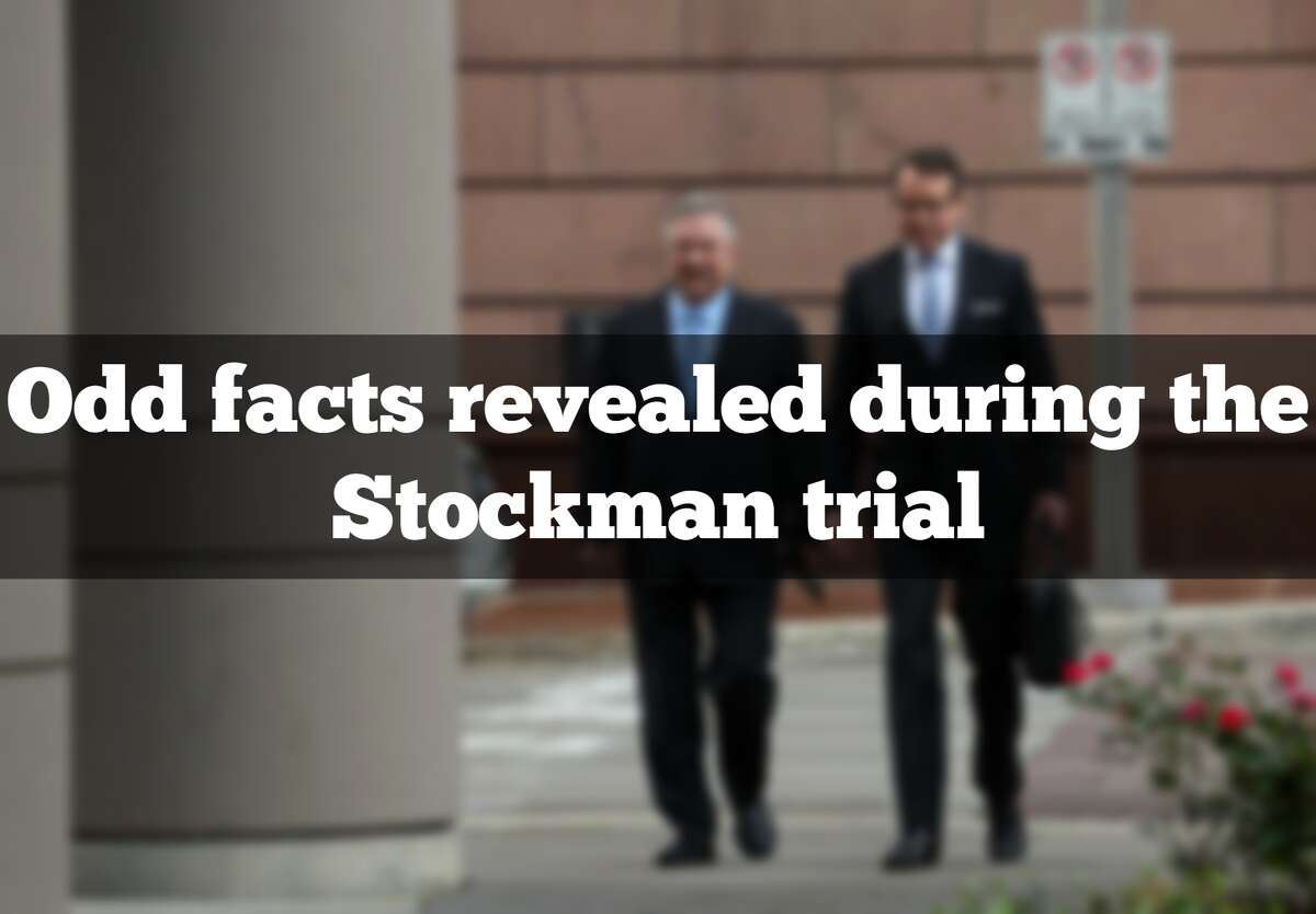 Check out some of the odd and curious facts revealed during the trial of former U.S. representative Steve Stockman (R-Texas).