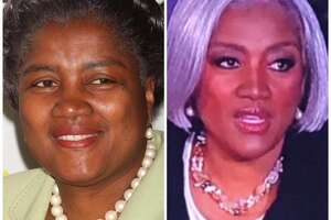 Political commentator Donna Brazile had a new look on election night.