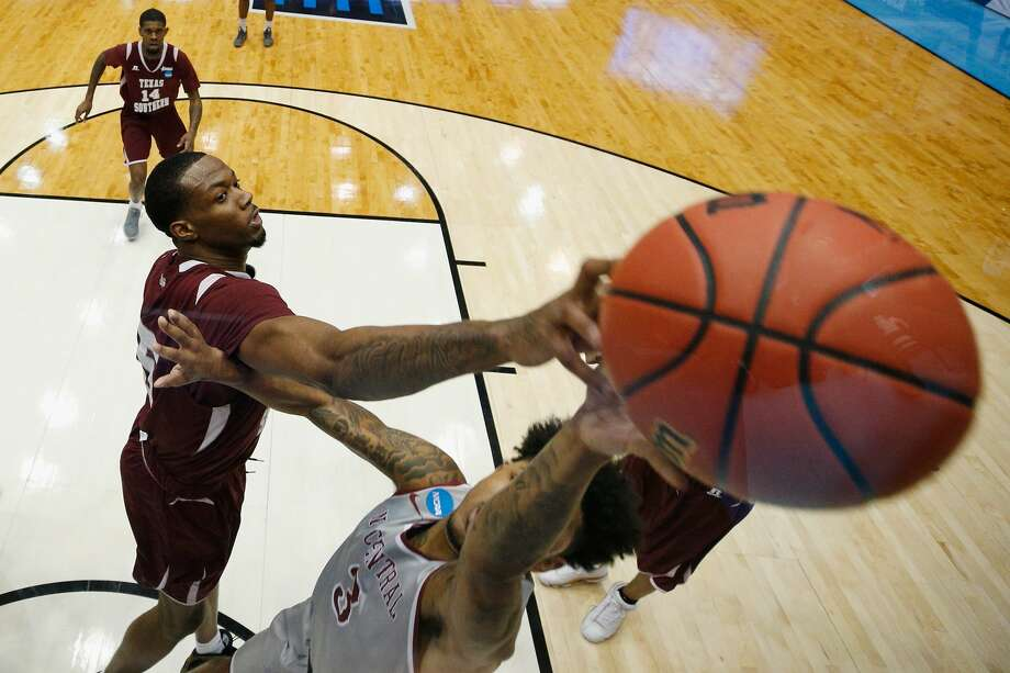 PHOTOS:Texas universities ranked by 2019 report of best schools in the nation In this March 14, 2018 file photo, Trayvon Reed #5 of the Texas Southern Tigers blocks a shot by Brandon Goldsmith #3 of the North Carolina Central Eagles during the First Four of the 2018 NCAA Men's Basketball Tournament at UD Arena on March 14, 2018 in Dayton, Ohio. On Tuesday, Reed was one of four Tigers to score in double figures (15 points) in an upset of Baylor. (Photo by Joe Robbins/Getty Images) >>>Wallet Hub's 2019 report of best colleges and universities puts some Houston-area schools at the top of the list ... Photo: Joe Robbins/Getty Images
