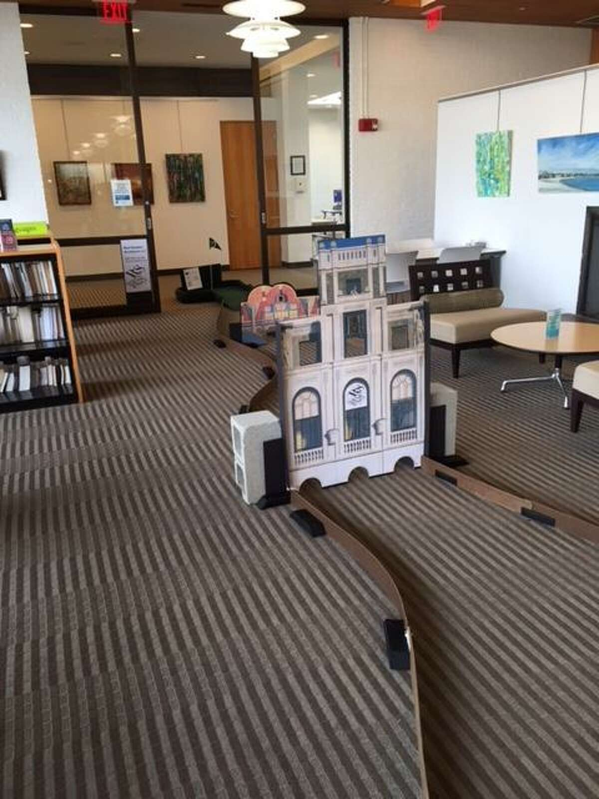 The Stratford Library Board of Trustees will be staging a fundraiser on Friday and Saturday, Nov. 9 and 10, when the library will be transformed into a golf course in miniature.