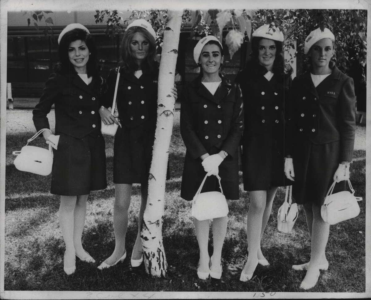 Saratoga Race Track Hostesses. August 1968 (Times Union Archive)