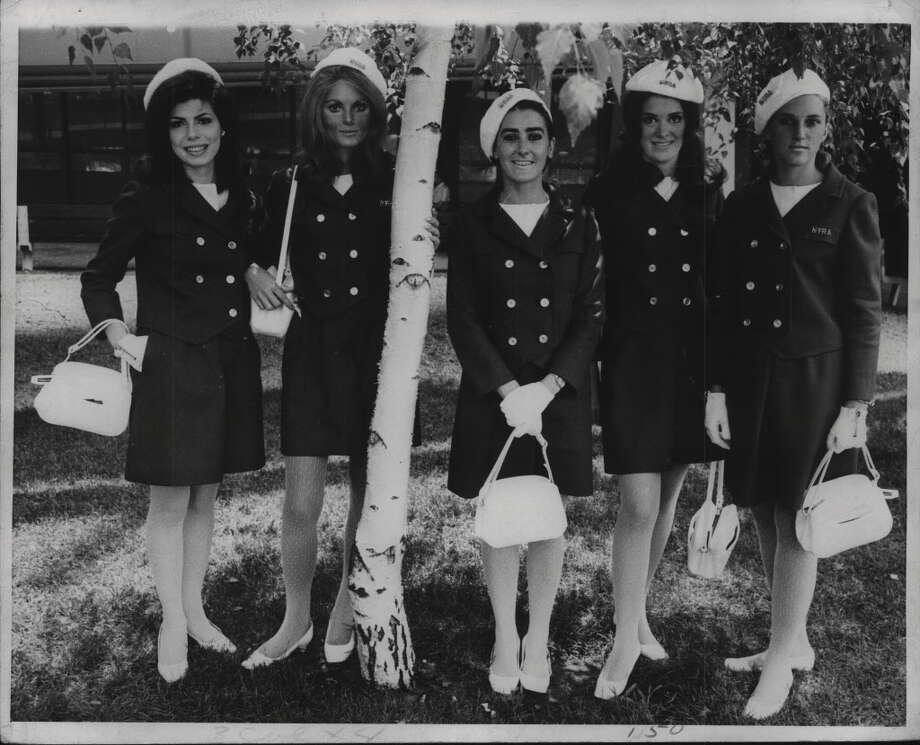 Saratoga Race Track Hostesses. August 1968 (Times Union Archive) Photo: Times Union Historic Images / http://hipe.historicimages.com/images/tua/tua09204b.jpg