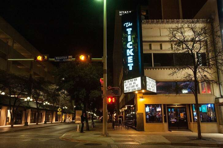 The Ticket Sports Pub is located at 420 E. Houston St. and is now owned by the same group that operates MadDogs British Pub, BierGarten and On the Bend on the River Walk, which are all within walking distance of The Ticket.