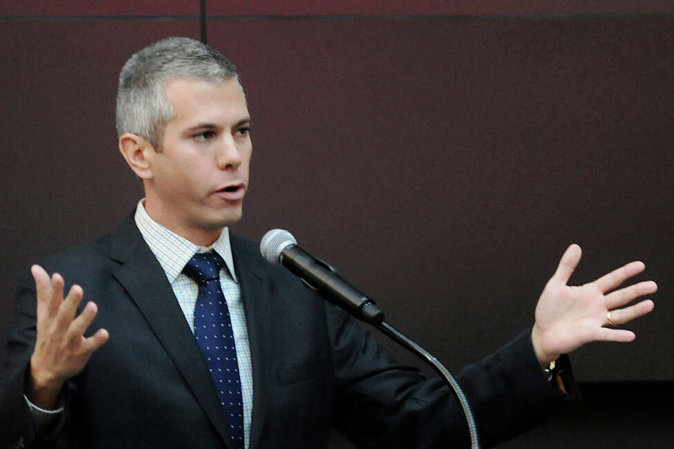 U.S. Rep. Anthony Brindisi is one of a handful of members of Congress whose vote on impeachment is still undetermined. (Mark DiOrio/Observer-Dispatch via AP, File)