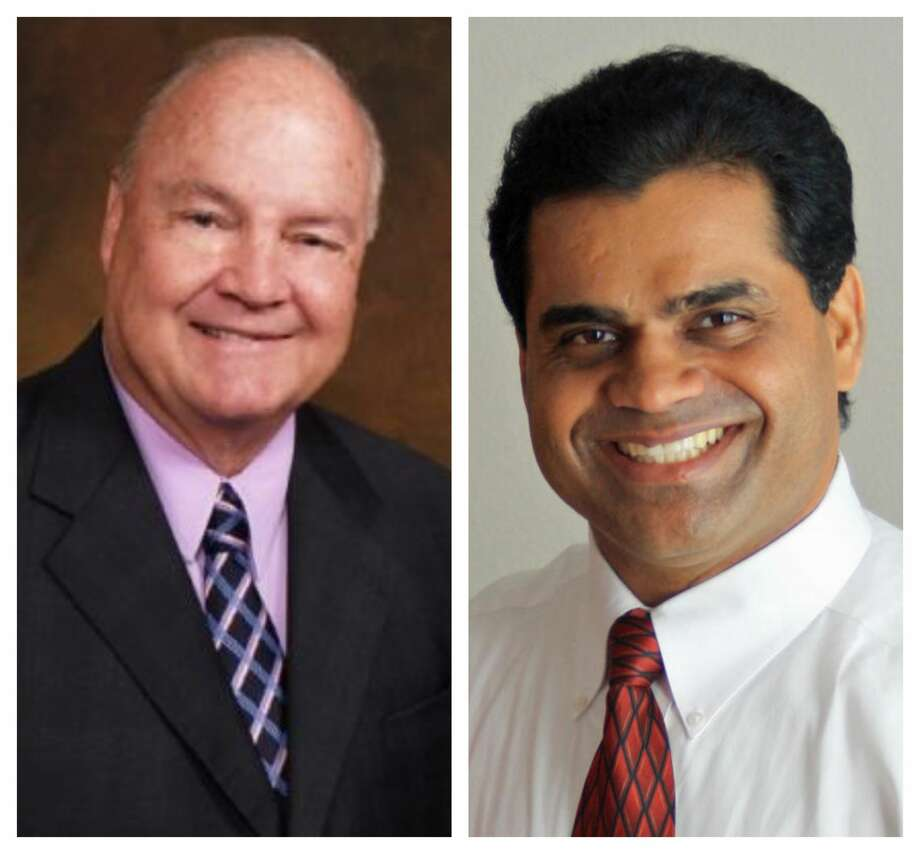 Fort Bend County JudgeIncumbent Robert Hebert (right) served as Fort Bend County Judge since 2003 and was unseated by Fort Bend ISD board member KP George. >>>See results from Houston area suburban elections.... Photo: KP George/Robert Hebert