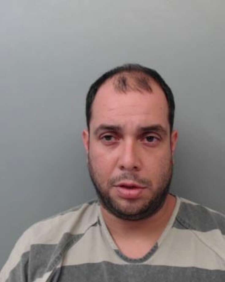 Miguel Peña Paz, 34, was charged with driving while intoxicated and indecent exposure. Photo: Webb County Sheriff's Office