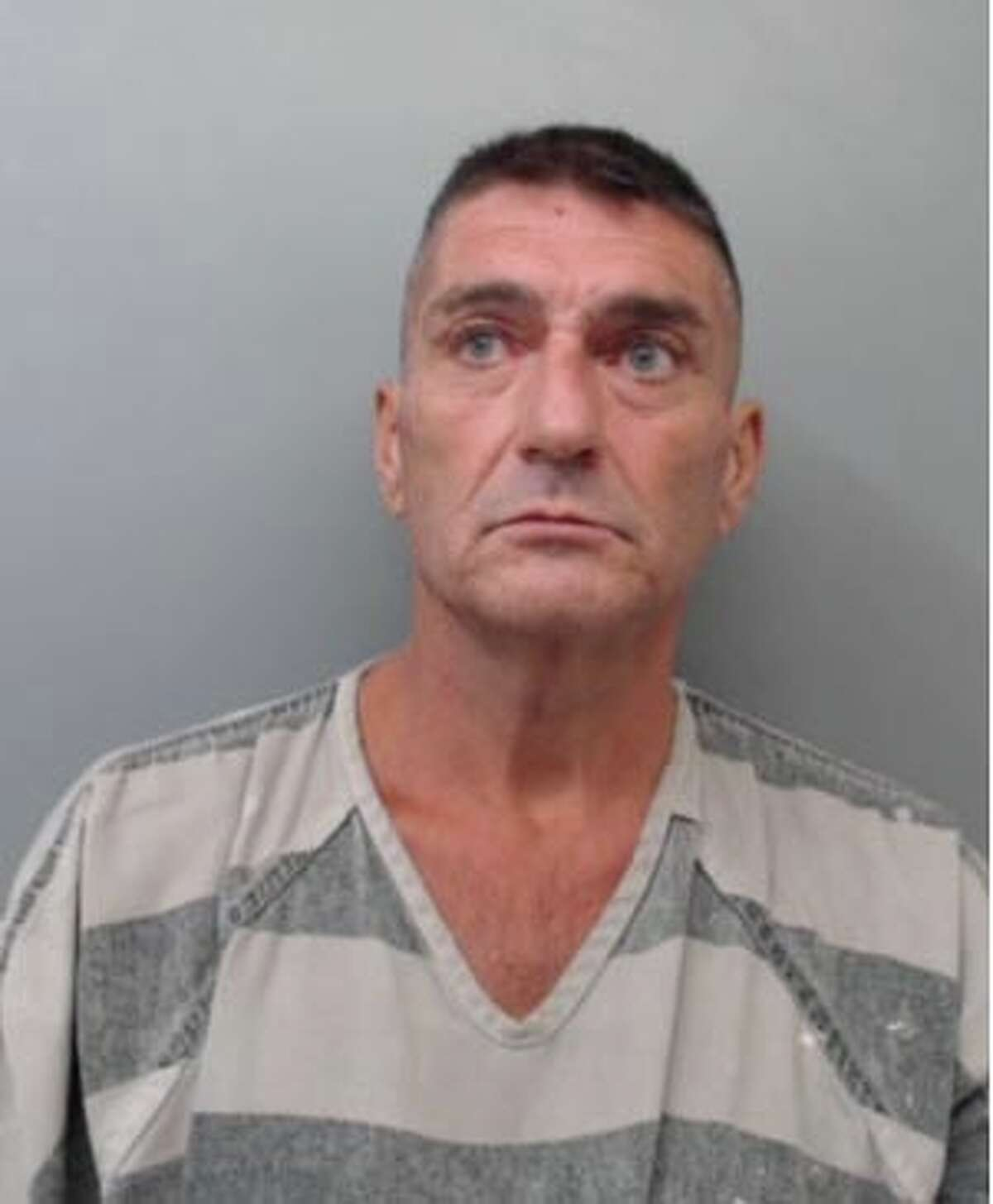 Randell Walden, 54, was charged with criminal trespass.