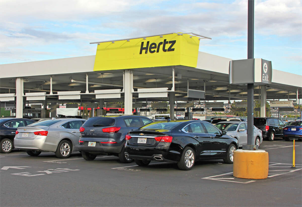 Hertz notched a 26-point gain in customer satisfaction this year.